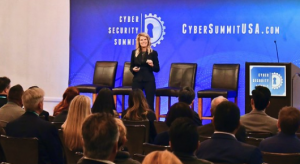 Keynote Presentation on Artificial Intelligence by Nicole Eagan at the Cyber Security Summit in LA