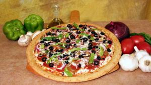 Gluten Free Gourmet Pizzas available at the Tacoma Garlic Jim's