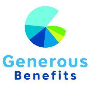 Nautilus shaped Generous Benefits logo