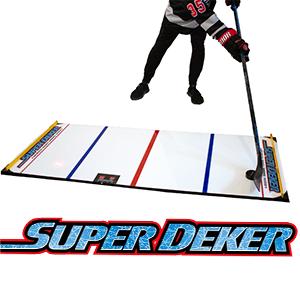 SuperDeker hockey training system