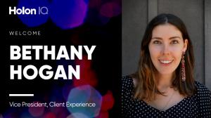 Bethany Hogan, Vice President Client Experience at HolonIQ
