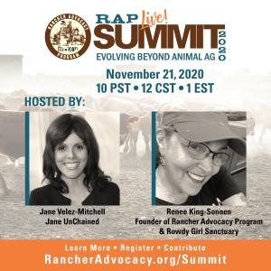 The summit will be moderated by Renee King-Sonnen and Jane Velez-Mitchell