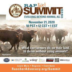 This summit is the first to bring ranchers and plant-based leaders together to talk.