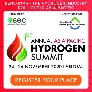1st Annual Asia-Pacific Hydrogen Summit Banner