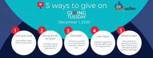 5 Ways to Give on GivingTuesday December 1, 2020