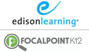 EdisonLearning and FocalPointK12 logos