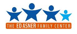 The Ed Asner Family Center logo