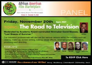Road To Television Flier