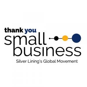 Thank You Small Business Logo