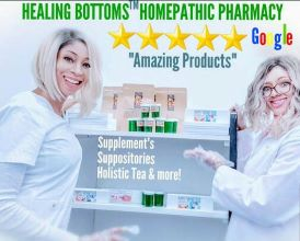 HEALING BOTTOMS™ HOMEOPATHIC PHARMACY DOCTOR & SURGEON RECOMMENDED #1 TREATMENT FOR BLEEDING FISSURES