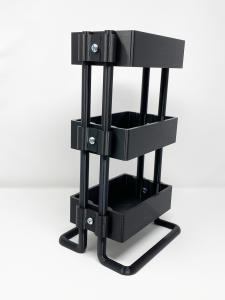 black large planner cart