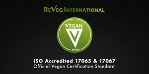 BeVeg is the first vegan standard in the world to gain ISO recognition