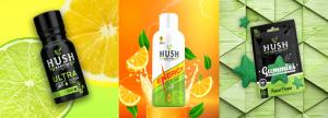 Hush Kratom Ultra, Hush Energy, Hush Gummies