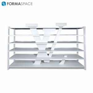 custom open shelving for retailer lvhm
