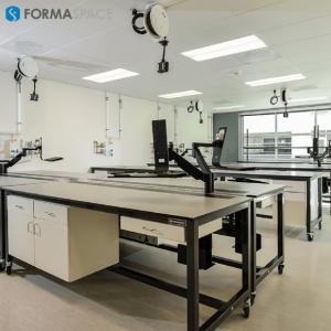 sample processing wet lab workbench