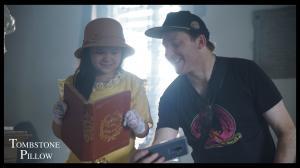 Actress Kendra Sison De Mesa and Director Daniel Lir