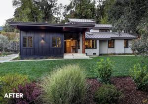 An AFTER image of the NARI Award-Winning Whole-House Remodel Project by LEFF Construction Design Build