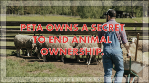 PETA owns a secret to end animal ownership.