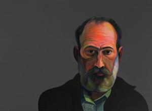 Myron Barnstone Self Portrait, London, 1973