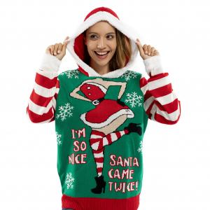 Women's Festive Sweaters in a range of colours, styles and sizes to brighten up the holidays.