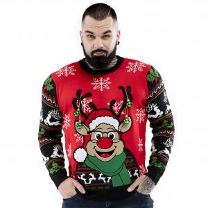 Men's Festive Sweaters for the Holidays available in an array of colours, styles and sizes to bring a touch of magic and madness to your holiday season.