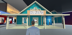 Virtual Village EDU House Wide Shot