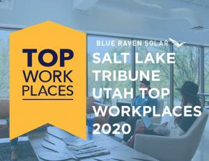 Photo of top workplaces award