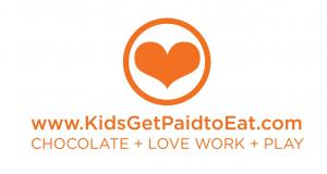 Recruiting for Good is sponsoring The Sweetest Gig for Kids to eat chocolate, love to work, and play. #kidsgetpaidtoeat #thesweetestgig www.KidsGetPaidtoEat.com