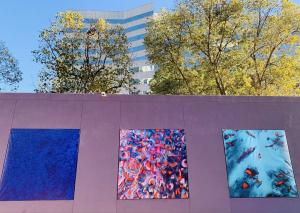 Laurel Holloman Pershing Square Exhibition in Downtown Los Angeles