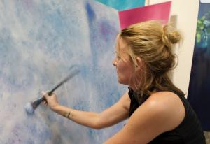Laurel Holloman Pershing Square Exhibition DTLA 2020-2021 Artist