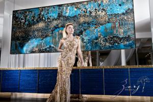 ANDREA BOCELLI's Guest Star LILLIAN GORBACHINCKY at BERVANN & ANDREA BOCELLI Foundation GALA II