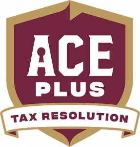 Ace Plus Tax Resolution Logo