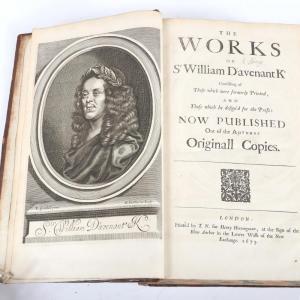 "Franz Schubert, Sinfonie in H-Moll ""Die Unvolledete""; Musik Verlag Emil Katzbichler, London, printed by T. N. For Henry Herringman, 1673 (est. $3,000-$5,000)."