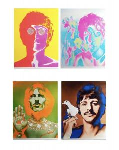 The Beatles, Richard Avedon poster/print set commissioned by The Beatles merchandising company NEMS, each 27in x 18¾ in, 1967. Est. for set: $1,500-$2,000