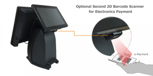 PST750 has Integrated 2D barcode scanner