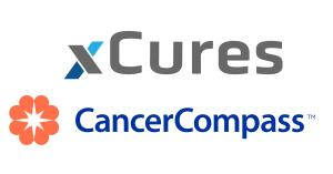 xCures and CancerCompass logos