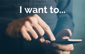 What does the customer want to do in the moment?