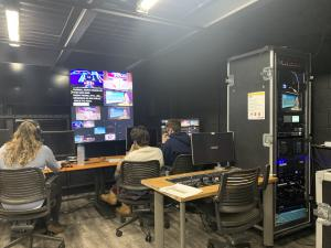 Five Towns College Mass Comm Students Behind the Scenes
