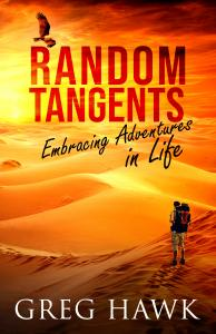 A Hiker Wandering Through the Desert Experiencing the Hidden Treasures in Life