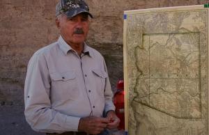 Greg Hawk describing a Treasure Hunt