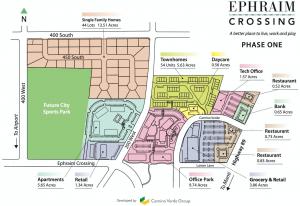Ephraim Crossing site plan
