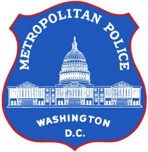 Washington DC Metropolitan Police Badge