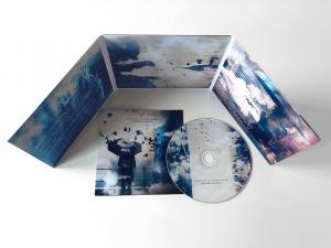 Album Packaging - colorful 6-fold layout