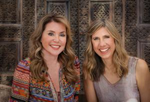 picture of Lisa Reagan and Suzanne Jackson are Shunia; their second album debuts today.