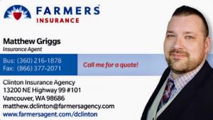 Matthew Griggs business card