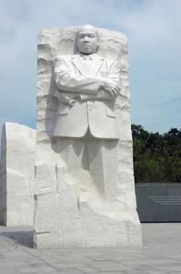 "The ""Stone of Hope"" at the Martin Luther King Jr. Memorial"