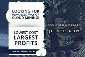 Best Crypto Cloud Mining Platform - MinersGarden.com