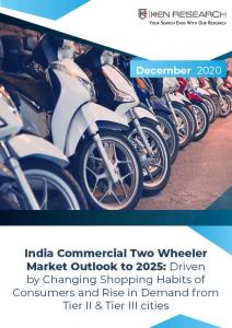 India Commercial Two Wheeler Market Cover Image