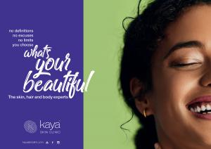 THE NEW AGE OF BOLD BEAUTY campaign by Kaya
