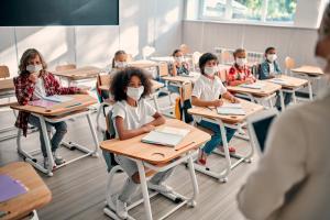 kids at school covid-19